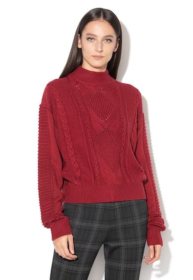 Pepe Jeans London Пуловер Helah с плетка осморка Жени