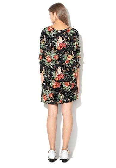 Pepe Jeans London Флорална рокля Jodies с ръкави тип долман Жени