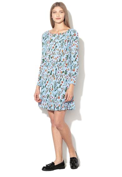 Pepe Jeans London Rochie evazata cu imprimeu floral si design plisat Bridget Femei