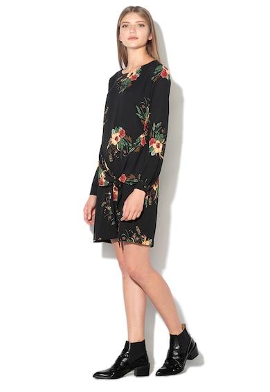 Pepe Jeans London Rochie dreapta cu model floral Galiana Femei