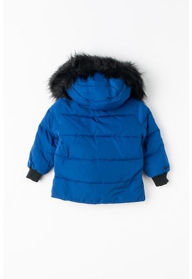 Pepe Jeans London Milla pihével bélelt télikabát levehető kapucnival Lány