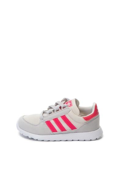 Adidas ORIGINALS Forest Grove sneakers cipő kontrasztos részletekkel Lány