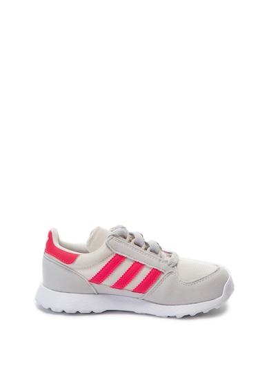 Adidas ORIGINALS Forest Grove sneakers cipő kontrasztos részletekkel Fiú