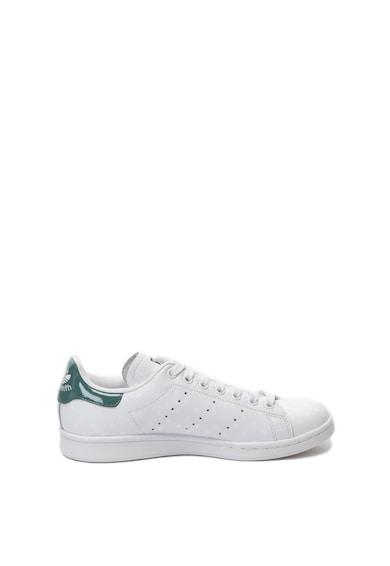 adidas Originals Pantofi sport de piele cu buline Stan Smith Femei