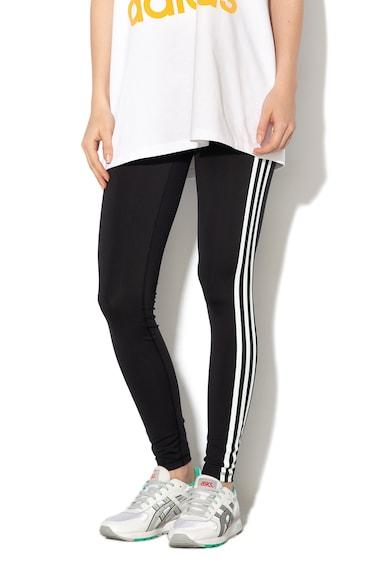 Adidas PERFORMANCE Colanti cu dungi emblematice, pentru antrenament Climalite Femei