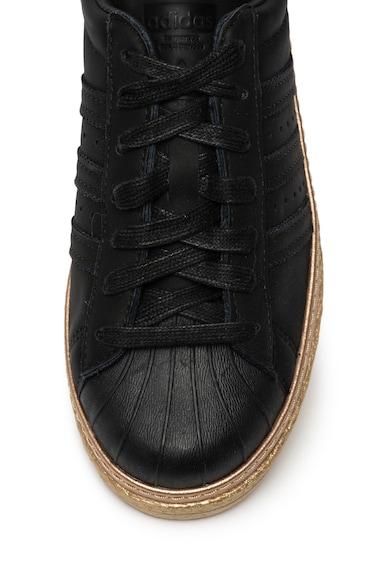 Adidas ORIGINALS Pantofi sport cu garnituri de piele Superstar 80s Femei