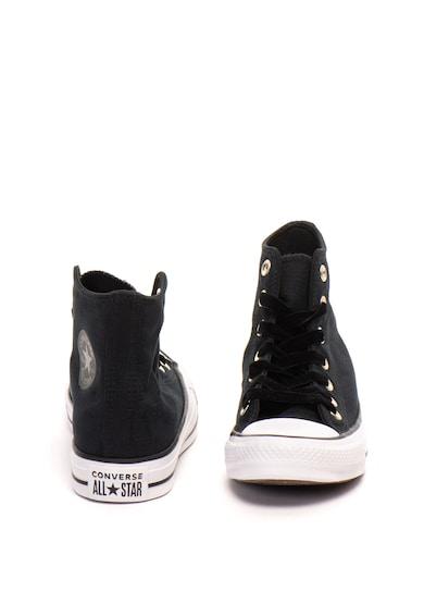 Converse Chuck Taylor All Star magas szárú tornacipő bársonyos fűzőkkel női