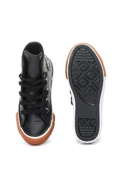 Converse Chuck Taylor All Star magas szárú bőr tornacipő Lány