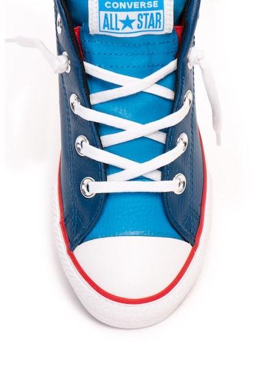 Converse Chuck Taylor All Star Street középmagas szárú bőr tornacipő Lány