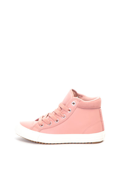 Converse Tenisi mid-high de piele Chuck Taylor All Star Pc Fete