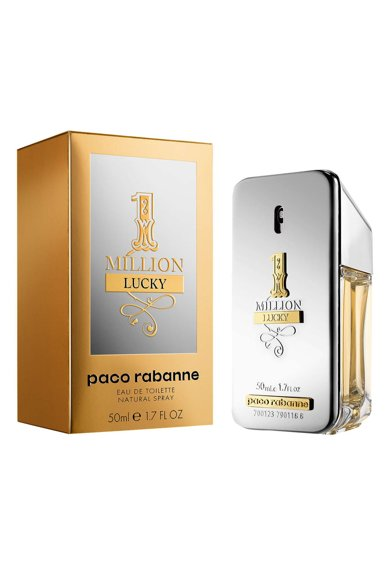 Paco Rabanne Apa de Toaleta  1 Million Lucky, Barbati, 50 ml Barbati