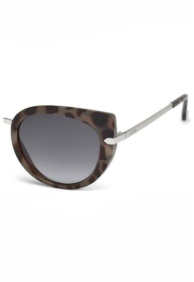 Guess Слънчеви очила стил Cat-Eye с животинска щампа Жени