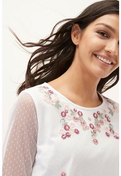 NEXT Bluza tip tunica cu broderie florala Femei