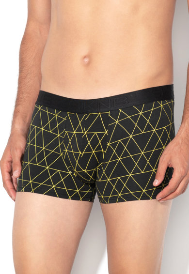 Skiny Boxeri cu model geometric Barbati