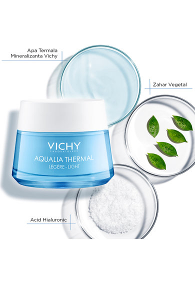 Vichy Crema rehidratanta  AQUALIA THERMAL pentru ten normal, 50 ml Femei
