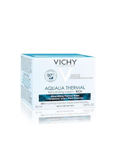 Vichy Crema rehidratanta  AQUALIA THERMAL pentru ten uscat si foarte uscat, 50 ml Femei
