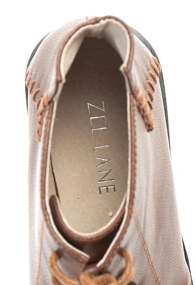 Zee Lane Ghete de piele ecologica cu cusaturi decorative Femei