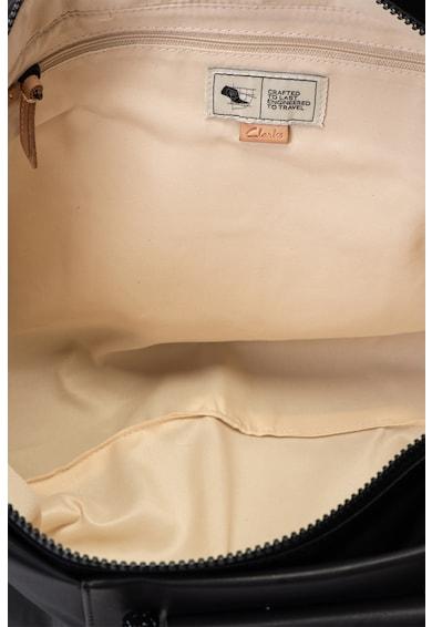 Clarks Geanta de piele ecologica si material textil, cu bareta de umar Contempo Femei