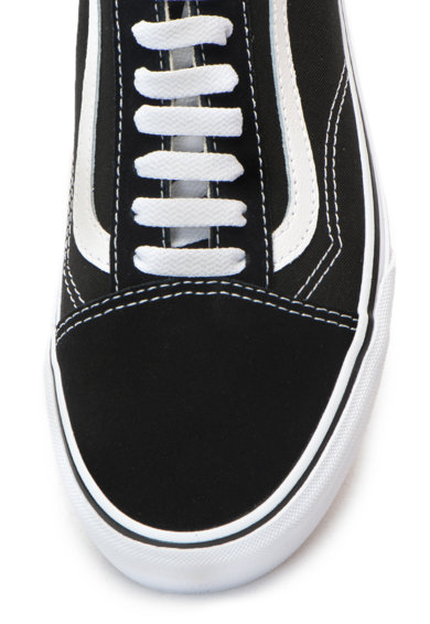Vans Old Skool flatform cipő nyersbőr betétekkel női