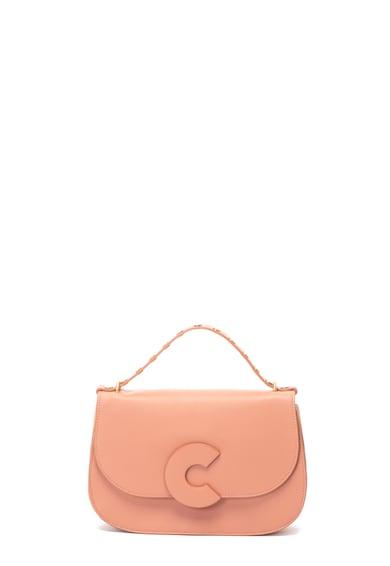 COCCINELLE Кожена ръчна чанта с отделяща се презрамка Жени