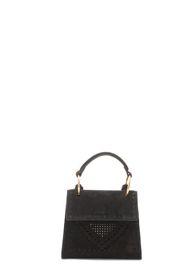 COCCINELLE Keresztpántos nyersbőr táska női