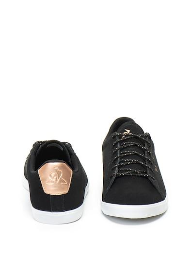 Le Coq Sportif Agate fémes hatású cipő perforált részletekkel női