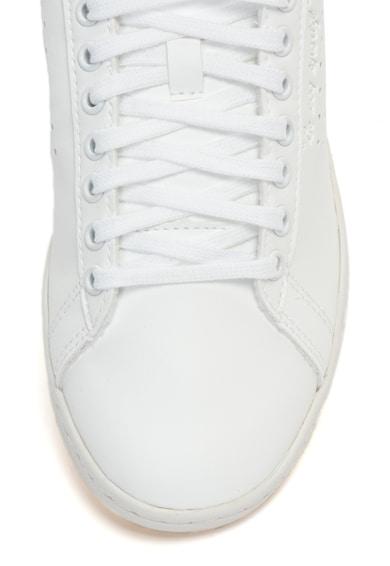 Le Coq Sportif Courtset ökobőr sneakers cipő perforált részletekkel női