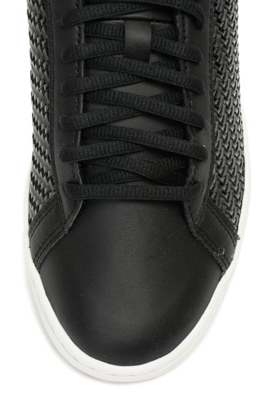 Le Coq Sportif Pantofi sport de piele ecologica, cu aspect texturat Courtset Femei