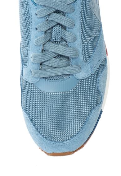 Le Coq Sportif Omega X sneakers cipő nyersbőr betétekkel férfi