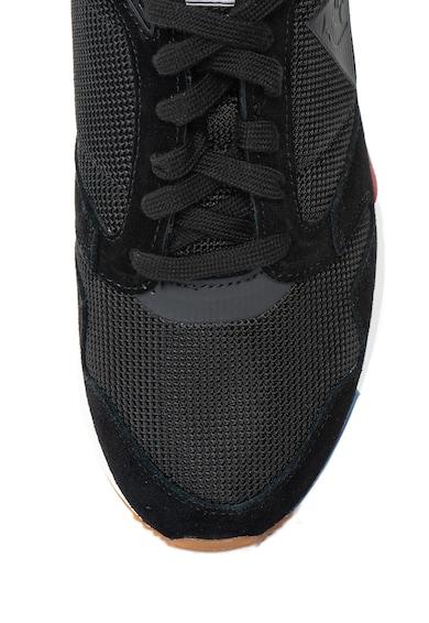 Le Coq Sportif Pantofi sport cu garnituri de piele intoarsa Omega X Sport Barbati