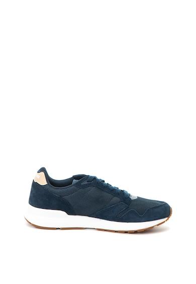 Le Coq Sportif Omega X Sport sneakers cipő nyersbőr szegélyekkel férfi