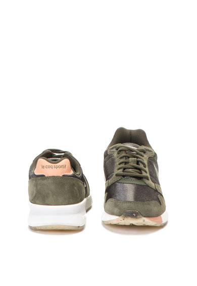 Le Coq Sportif Omega x W Sport sneakers cipő nyersbőr betétekkel női