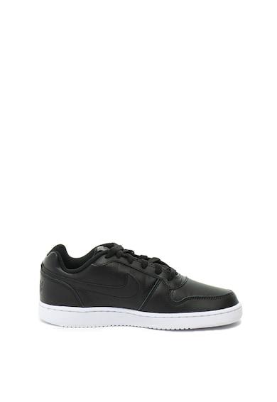 Nike Pantofi sport de piele cu talpa joasa Ebernon Femei