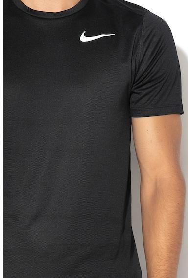 Nike Dri-Fit logómintás futópóló mikroperforációkkal férfi
