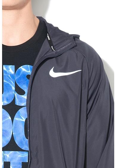 Nike Vízlepergető sportdzseki kapucnival férfi