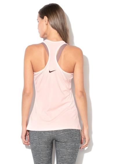 Nike Топ за фитнес с изрязан гръб Жени