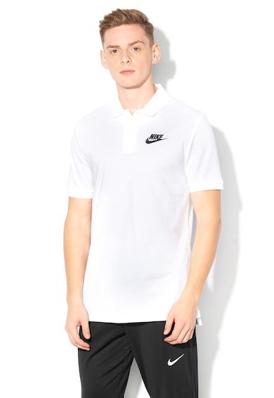 Nike Tricou polo din pique cu broderie logo Barbati