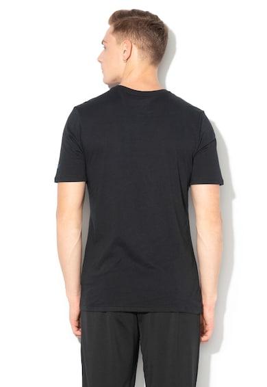 Nike Dri-Fit grafikai mintás athletic cut kosaras póló férfi