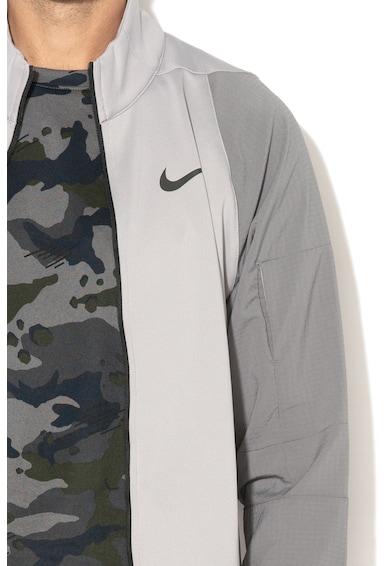Nike Bluza sport pentru fitness cu buzunar pe maneca pentru MP3 player Dri-Fit Barbati