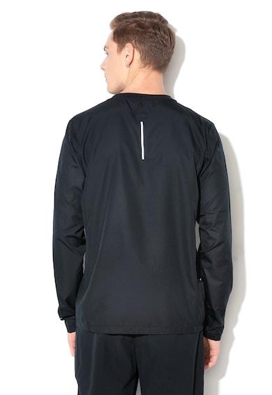 Nike Jacheta impermeabila fara inchidere, pentru alergare Barbati