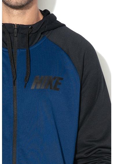 Nike Фитнес суитшърт Dri-Fit с цип и качулка Мъже
