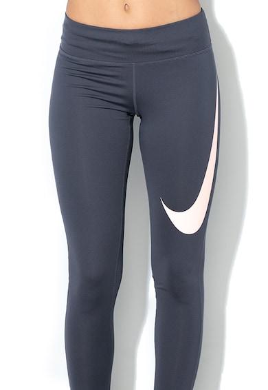 Nike Dri-Fit futóleggings bevont logóval női