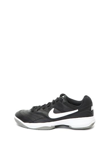 Nike Court Lite teniszcipő bőrszegélyekkel férfi