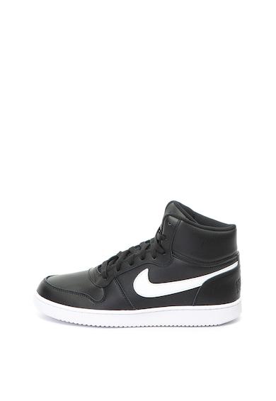 Nike Pantofi sport mid-high de piele, cu garnituri de piele ecologica Ebernon Barbati