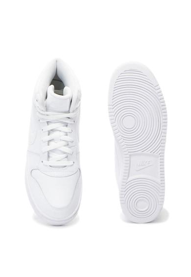 Nike Ebernon magas szárú sneakers cipő bőrszegélyekkel férfi