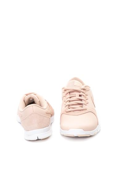 Nike Pantofi sport cu garnituri de piele intoarsa Flex Essential Femei