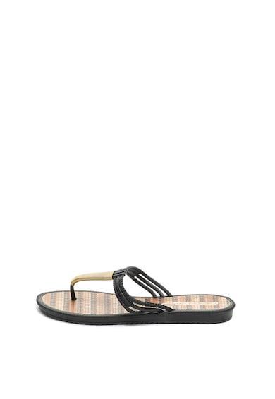 Grendha Papuci flip-flop cu garnituri cu aspect metalizat Riviera II Femei