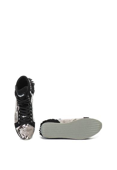 DESIGUAL Pantofi sport mid-high cu model reptila Miwok Femei