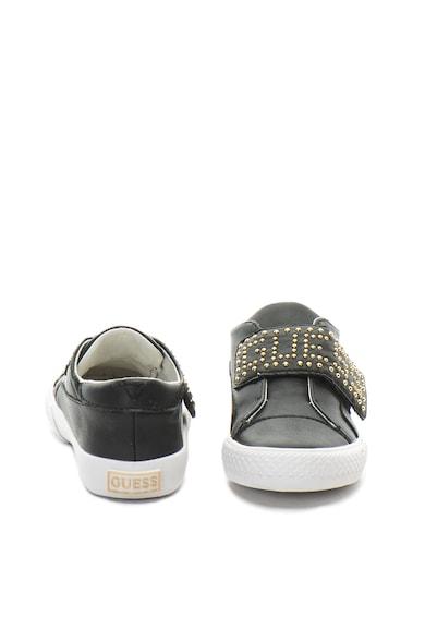 Guess Pantofi sport de piele ecologica, cu tinte Baieti