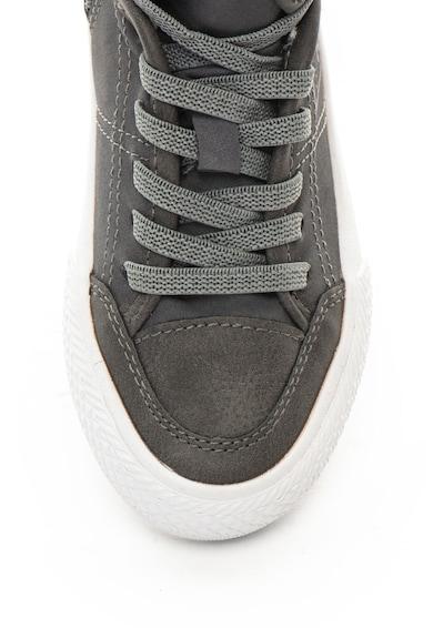 Guess Pantofi sport de piele ecologica, cu logo Baieti